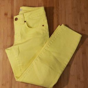 EUC Neon Yellow CAbi Jeans